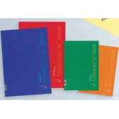 Bloco de cartolina a3 - cores sortidas 36749