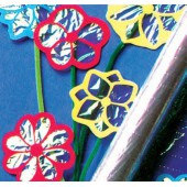 Rolo de papel celofane - azul