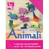 Papel silhuetas animais - 05408