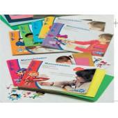 Cadernos trabalhos manuais celofane 48383
