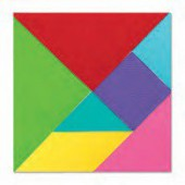 Cortante tangram sizzix - siza10352