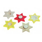 Suporte de velas - estrelas - 40742
