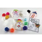 Conjunto de fantoches boneco de neve - ar01556