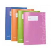 Caderno agrafado a5 quadriculado 75445