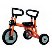 Triciclo laranja com pedais 200-07 dynamic