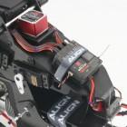 NetShelter SX 42U 600mm Wide Perforated Split Doors Black