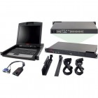 APC 2X1X16 IP KVM with APC 17 Rack LCD and USB VM Server Module Bundle
