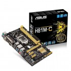 H81M-C -LGA 1150, Intel H81, 2DDR3(Dual Channel), vga integrada, 1 x D-Sub + 1 x DVI ,SATA 6Gb/s*2 + SATA 3Gb/s*2MicroAt