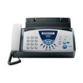 Fax T104- Fax de Transferencia térmica. papel comum. acesso dual. 9.600 bps. 25 pág. de recepção sem papel