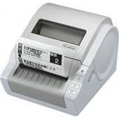 TD-4000 - Vel. de imp até 92 etiquetas/minuto, USB e Série, corte de fita automático, software impressão de etiquetas e