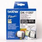 100 Etiquetas para CD/DVD - Autocolante - tamanho: 58 x 58 mm
