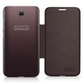 Flip case alcatel idol 2 brown