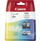 PG-540 / CL-541 Multi Pack com segurança (Black and Colour)