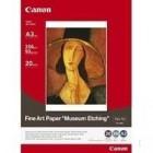 Fine Art Paper Museum Etching, A3, Cx. 20Folhas, 350Grs.