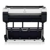 iPF770 de 36/A0 com 6 tinteiros CMYBk+2MBk Hot Swap, rolo de alimentação e gestão de custos. Inclui PosterArtist Lite