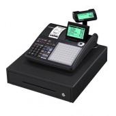 Casio SE-C450MB - Caixa registadora com faturas simplificadas, vendas e anulações, cartão SD, 2 portas RS232, papel térm