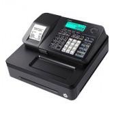 Casio SE-S100-S-BK - Caixa registadora com Faturas simplificadas, LCD 2 linhas, Permite definição de série, até 2.000 PL