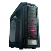 CM Storm Trooper, Two front 120 mm red LED fans provide superior HDD/SSD cooling, Top 200mm fan, Two 90 degree removable