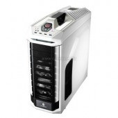 CM Storm Stryker, black and white design with mesh front panel, 90 degree rotatable 5.25?/3.5? Combo Cages, two USB 3.0,