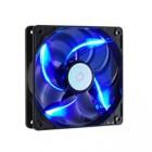 Sickle Flow 120mm Blue LED Fan, 2000rpm, 69,69 CFM,Long-Life Sleeve, 50.000H