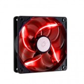 Sickle Flow 120mm Red LED Fan, 2000rpm, 69,69 CFM,Long-Life Sleeve, 50.000H