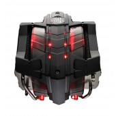 V8 GTS, Cooler Master Horizontal Vapor Chamber Technology, 8 heatpipes, Dual PWM fans with red LEDs, Fan Speed control,