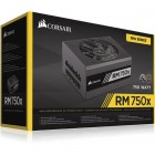 Enthusiast Series RM750X Power Supply, FULLY MODULAR 80 PLUS GOLD 750W
