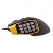 Corsair Gaming? Scimitar RGB MOBA/MMO PC Gaming Mouse, Optical, up to 12000 dpi, Key Slider Mechanical Buttons, 4 Zone R