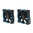 Fan, SP120, Low noise high pressure fan, 120 mm x 25 mm, 3 pin, Dual Pack