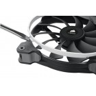 Fan, AF140, Low noise high airflow fan, 140 mm x 25 mm, 3 pin, Single Pack