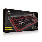 Corsair Gaming Strafe Black, Red LED, Cherry MX Brown