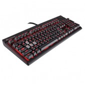 Corsair Gaming? STRAFE Mechanical Gaming Keyboard, Backlit Red LED, Cherry MX Red (International ENlish)
