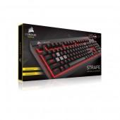 Corsair Gaming? STRAFE Mechanical Gaming Keyboard, Backlit Red LED, Cherry MX Red Português