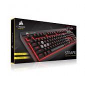 Corsair Gaming Strafe Black, Red LED, Cherry MX Blue