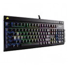 Corsair Gaming? STRAFE RGB Mechanical Gaming Keyboard, Backlit Multicolor LED, Cherry MX Red (International ENlish)