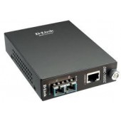 1000BaseT to 1000BaseSX Multimode Media Converter with SC Fiber Connector (D-Link Assist - Categoria C)