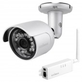 HD Wi-Fi Mini Outdoor Network Camera with 139o Wide Angle View, Day & Night
