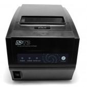 Impressora Térmica Talões e Cód. Barras c/Corte, 56/42 col., Mem. 128Kb, Memória de Logos, 260mm/s, Rolo 80mm, c