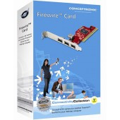 PCI interface card with 3x Firewire ports incl. Magix Movies on cd/dvd software and cables