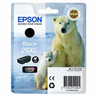 Tinteiro preto26XL Alta Capacidade Claria Premium