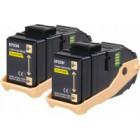 Pack Duplo Toner Amarelo Aculaser C9300