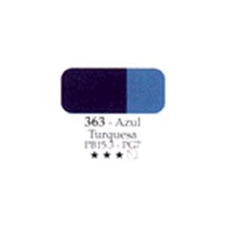 Acrilex oleo 20ml azul turquesa