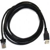 Cabo USB Preto tipo A p/Scanner MS9590