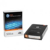 HP RDX 500GB Removable Disk Cartridge with 500GB native capacity - For use with HP RDX Disk Solution & HP RDX Disk Docki