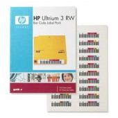 HP LTO-3 Ultrium RW Bar Code label pack - promo válida para un em stock
