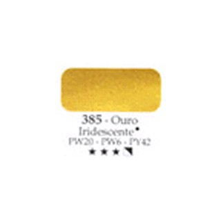 Acrilex oleo ouro iridescente