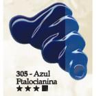 Acrilex oleo 37ml azul ftalocianina