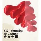 Acrilex oleo 37ml vermelho de cadmio