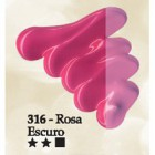 Acrilex oleo 37ml rosa escuro