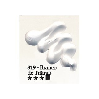 Acrilex oleo 37ml branco titanio